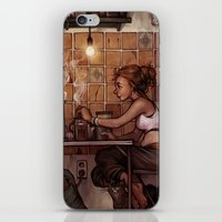 cafe iPhone & iPod Skins featuring Cafe Presse by loish