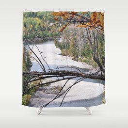 Overlooking the River Shower Curtain