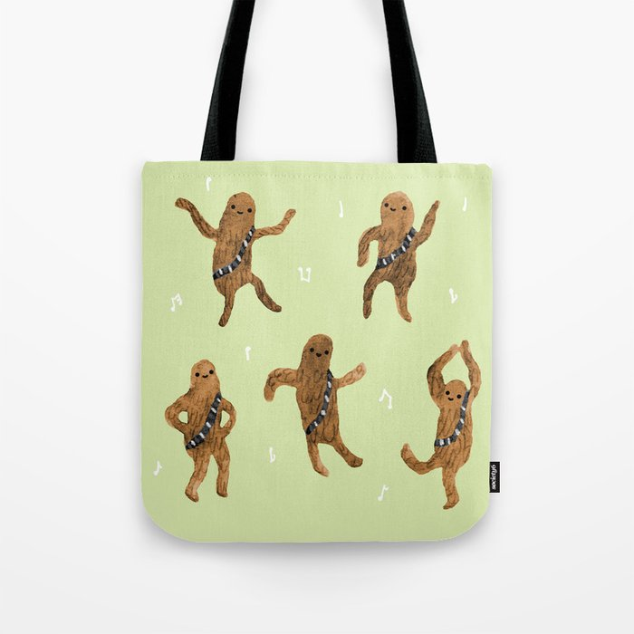Wookie Dance Party Tote Bag