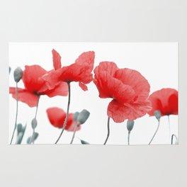 poppy in love Rug