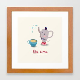 Teatime Framed Art Print