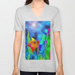 Mystery Garden Unisex V-Neck