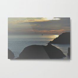 Fading Out Metal Print