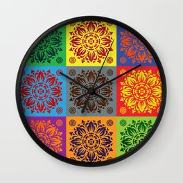 PATTERN ART10-1 Wall Clock