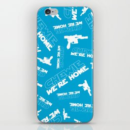 Chewie We're Home Pattern iPhone Skin