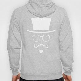 Hipster Mustache Fisherman Hoody