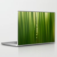 grass Laptop & iPad Skins featuring grass by Ingrid Beddoes