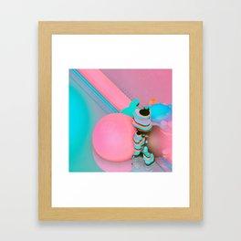 PINK CONSCIENCE (everyday 07.20.16) Framed Art Print