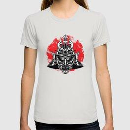 Samurai Oni Demon Mask T-shirt