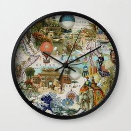 The World-Oceania Wall Clock