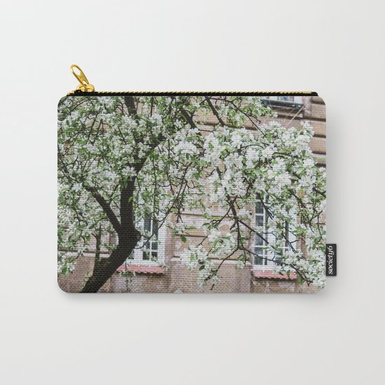 Spring Tree Blossoming In Krakow Carry-All Pouch