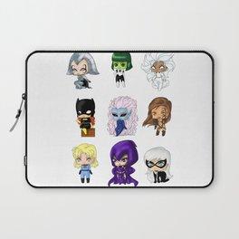 Chibi Heroines Set 1 Laptop Sleeve