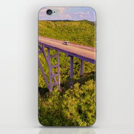 The Bridge of Bacunayagua iPhone Skin