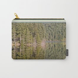 FOREST REFLECTIONS ON A MOUNTAIN LAKE Carry-All Pouch