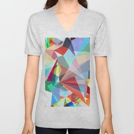 Colorflash 5 Unisex V-Neck
