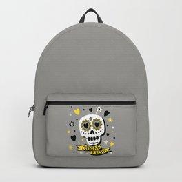 Mardi Gras Valentine Skull - Sugar Rush Love Series Backpack