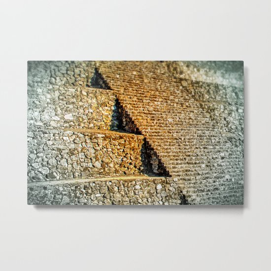 PATTERNS OF HISTORY Metal Print
