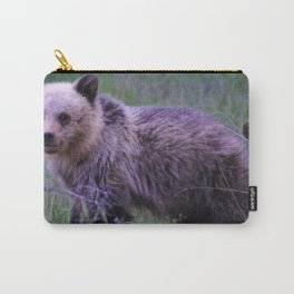 Grizzly bear cub in Jasper National Park | Alberta Carry-All Pouch