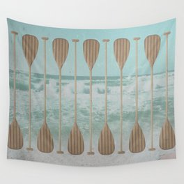 Stand Up Paddle Wall Tapestry
