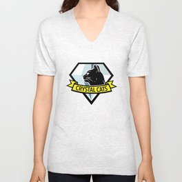 Crystal Cats - MGS Unisex V-Neck