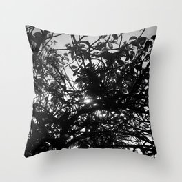 The Light Is Almost There Throw Pillow