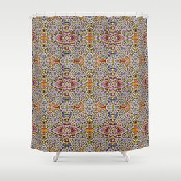 Rites of Spring Ornate Pattern Shower Curtain