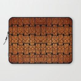 Brown Weave Mat Laptop Sleeve