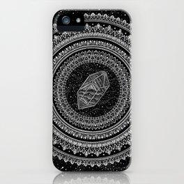 Gravitation Mandala iPhone Case