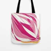 icecream Tote Bags featuring Icecream by Vítor Galvão