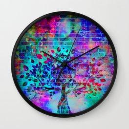 wall graffiti Wall Clock
