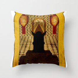 The Hall Of The Mountain King Throw Pillow