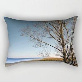 Beach Tree Rectangular Pillow