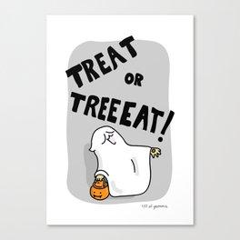 treat or treat! Canvas Print