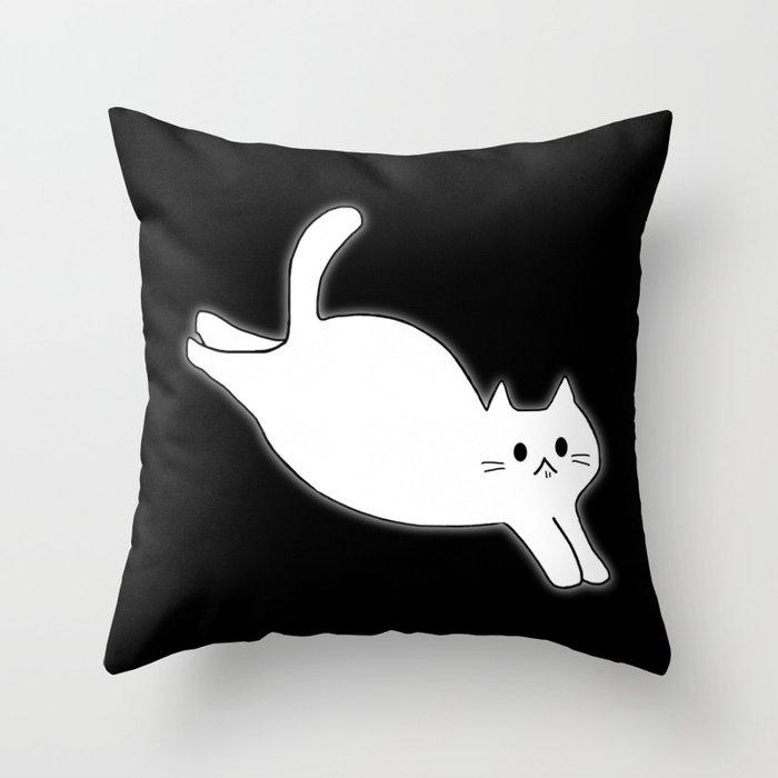 cat 617 Throw Pillow