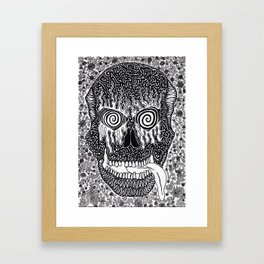 Crawling After You Framed Art Print