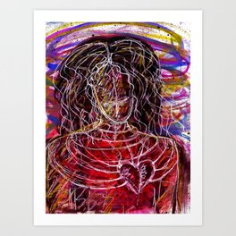 Emotional Captivity - Borderline Personality Disorder Art Print