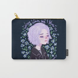 Riley Blue by Ane Teruel Carry-All Pouch
