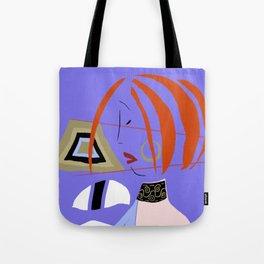 Japanese Profile Tote Bag