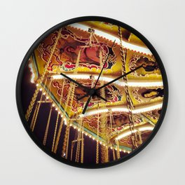 Pretty Lights Wall Clock