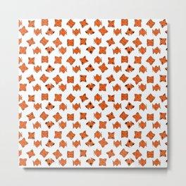 cootie catchers (orange) Metal Print