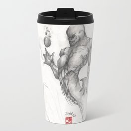 Merman Travel Mug