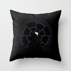 The Emperor Throw Pillow