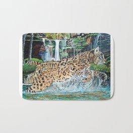 Bobcat in the Holler Bath Mat