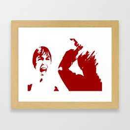 PSYCHO 2 Framed Art Print