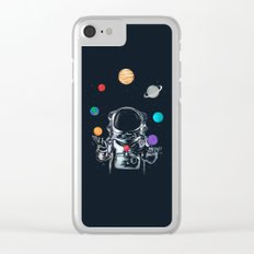 Space Circus Clear iPhone Case