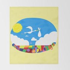 Disney's Pixar's UP! Nursery Art Throw Blanket