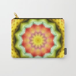 Prismatic Eye Mandala Carry-All Pouch
