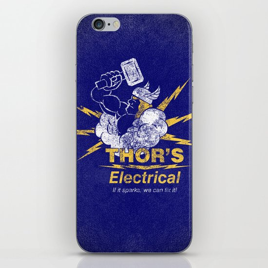 Thor - Thor's Electrical iPhone & iPod Skin