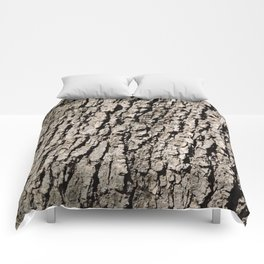 TEXTURES - Valley Oak Tree Bark Comforters
