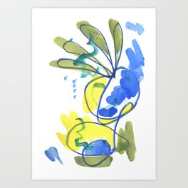 Whispers of the Fronds Art Print